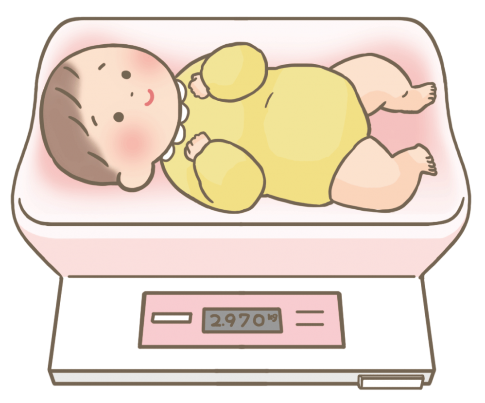 body-weight-measurement-baby